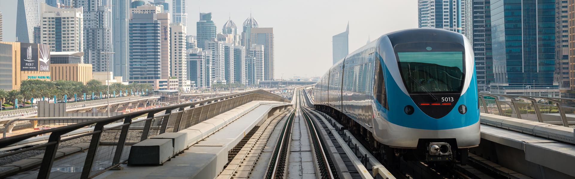 Метро в Дубаї